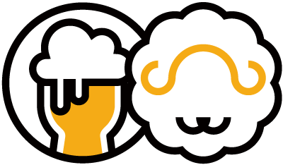 ビールと羊 マーク